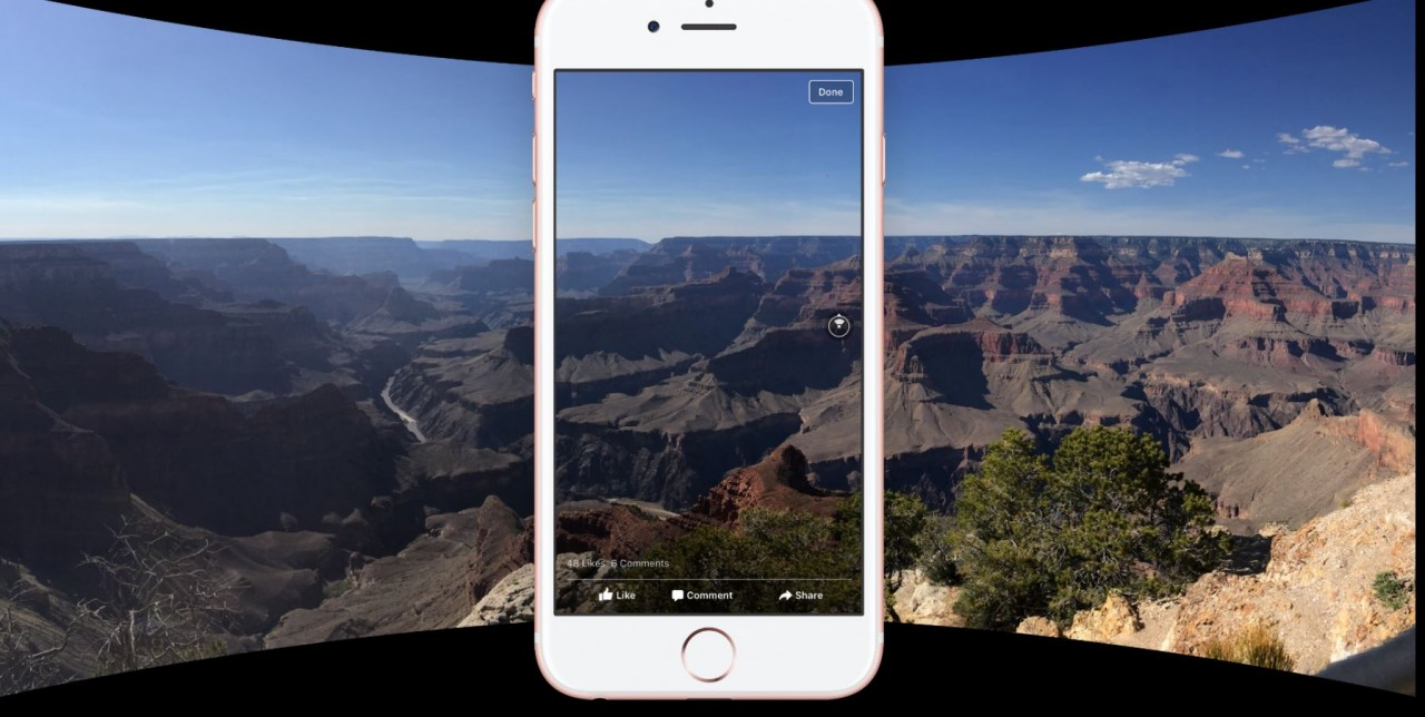360 Degree Photos to Facebook, techbuzzes,