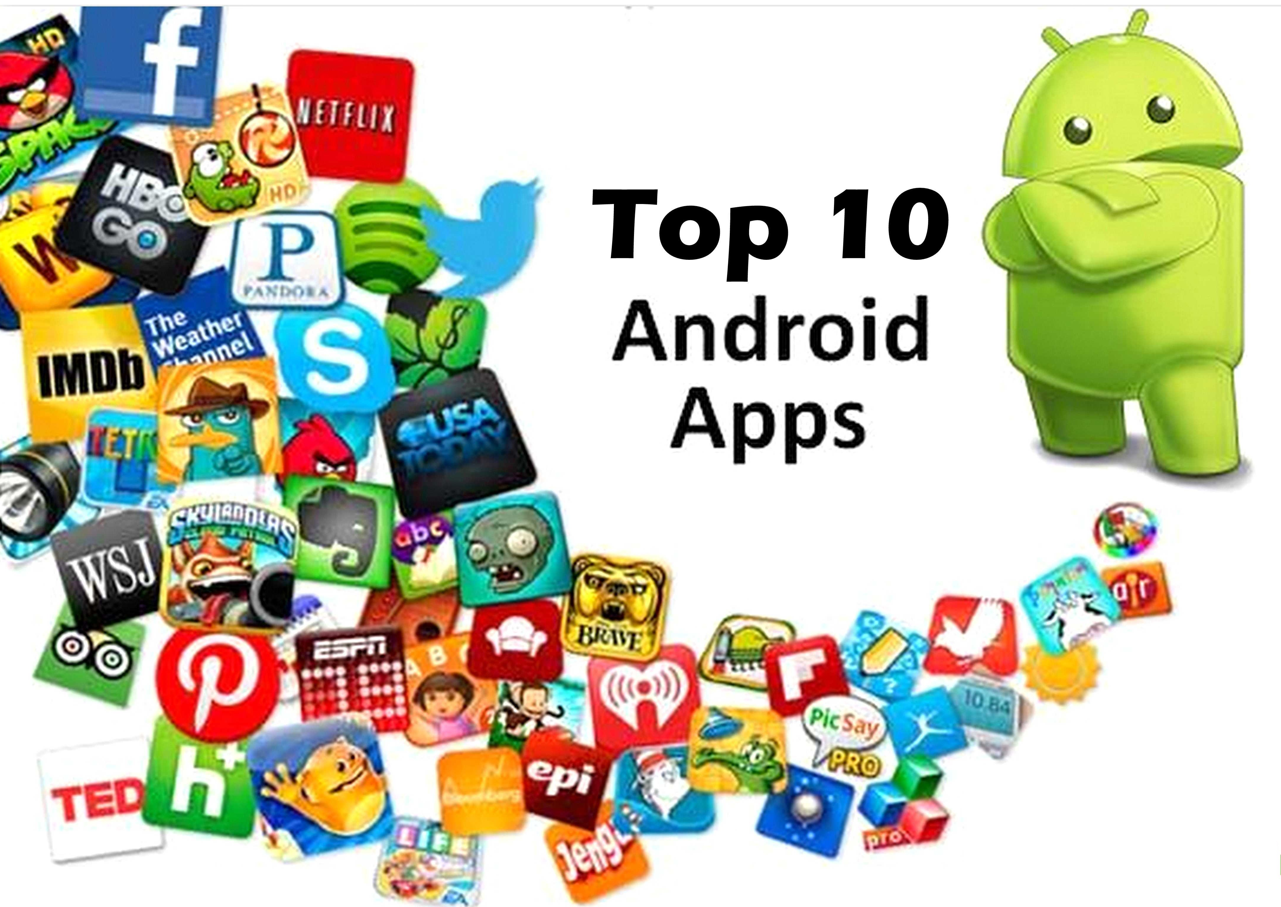 Top 10 free apps for android