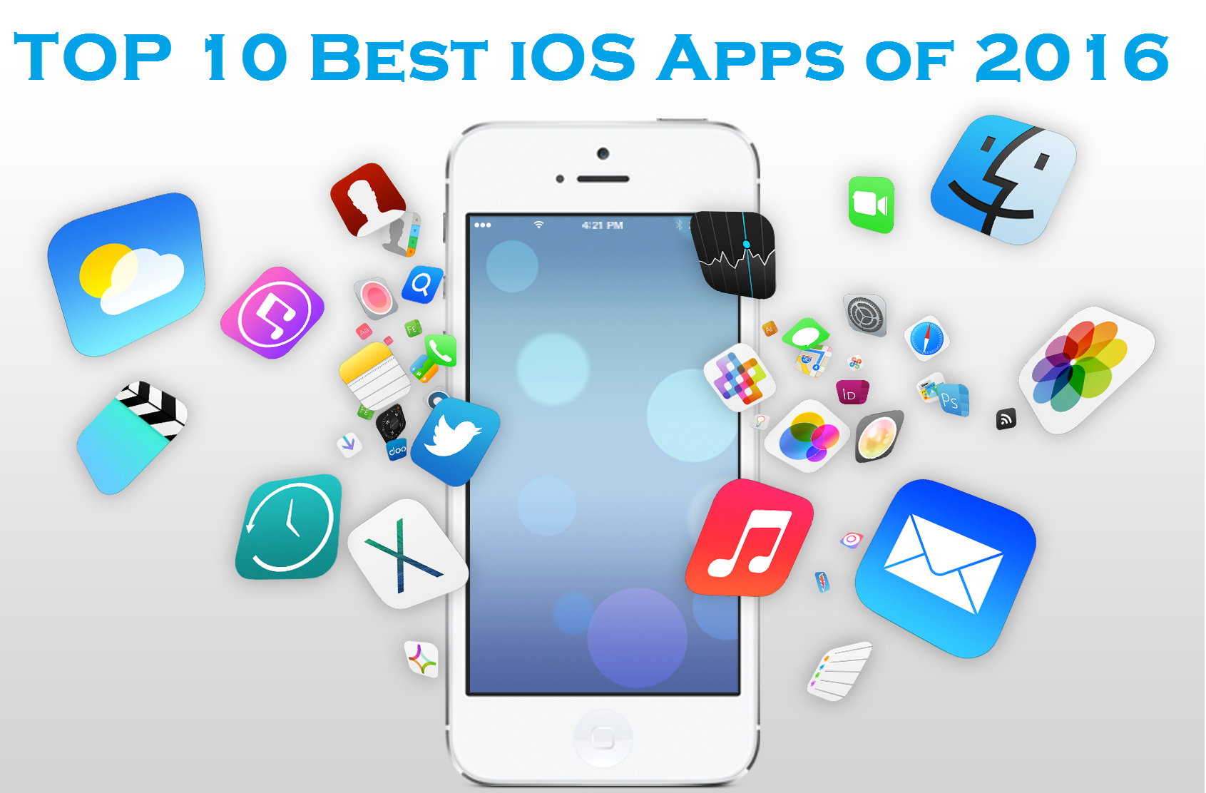 top 5 ios apps