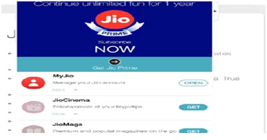 Activate JIO Prime, techbuzzes, techbuzzes.com