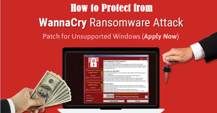 WannaCry ransomware virus, techbuzzes, techbuzzes.com