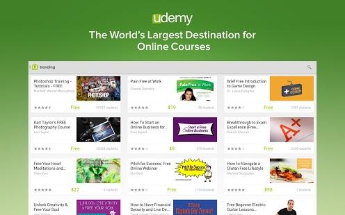 udemy, techbuzzes.com, techbuzzes, Educational Apps