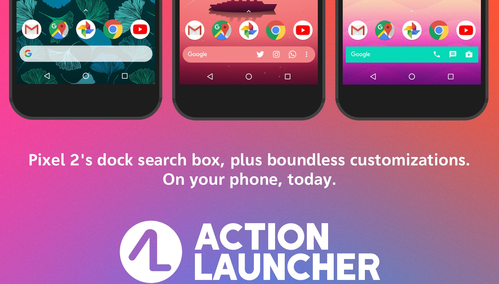 Action Launcher, techbuzzes