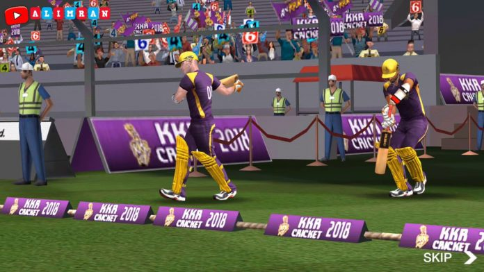 KKR Cricket 2018 Cricket Game, techbuzzes, Cricket Game, KKR Cricket 2018,